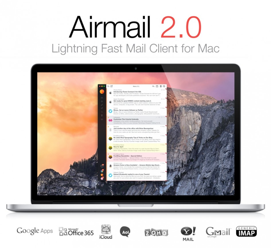Airmail 2 for Mac