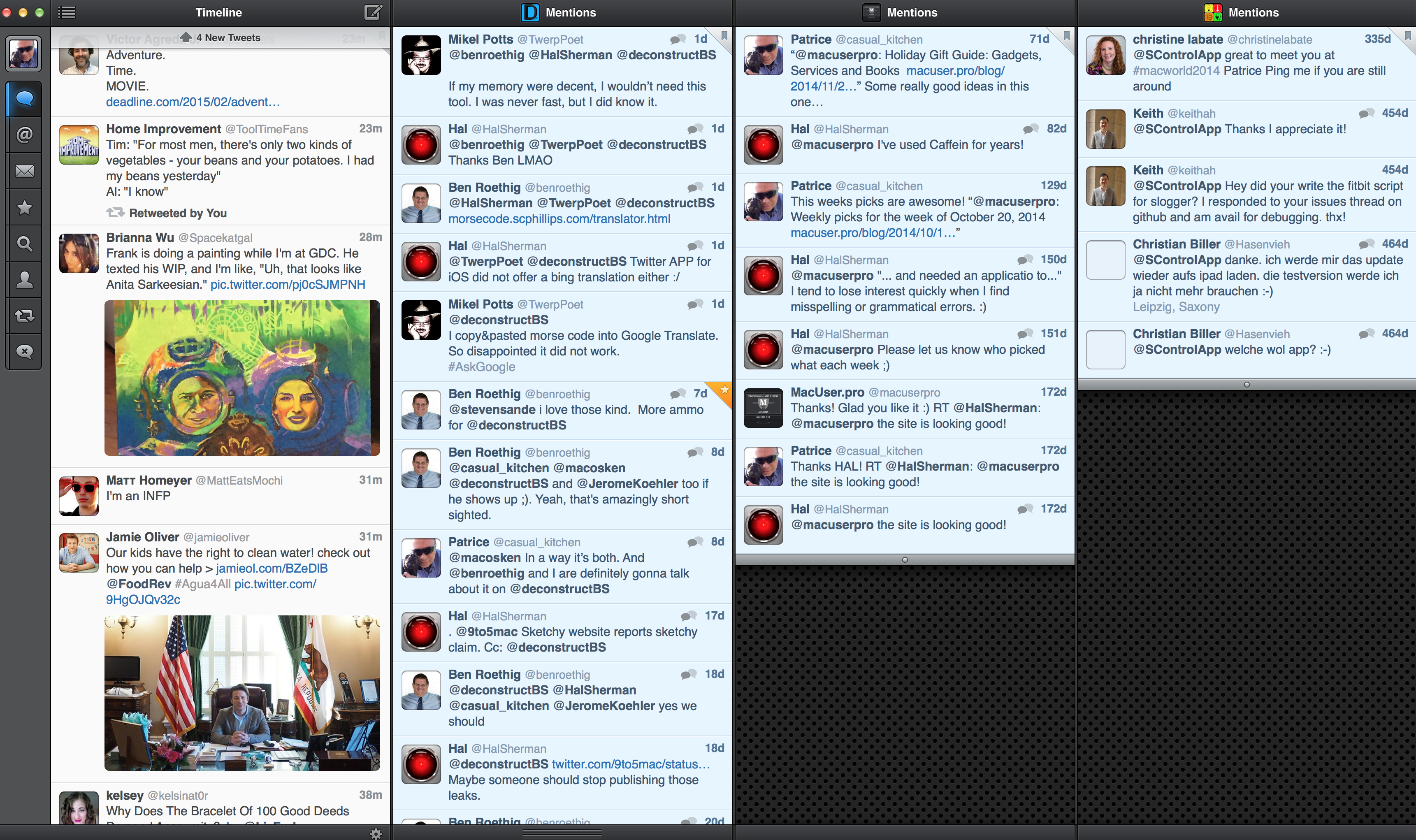 Tweetbot on OS X